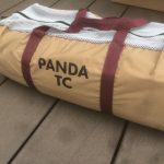 テンマクデザインテントパンダTC購入!合わせるコットは?