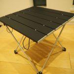Linkaxのアルミ製アウトドアテーブルを購入レビュー♪