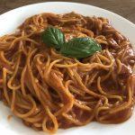 メスティンで大人気トマトスパゲッティ【パスタ】作ってみた