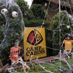 那須キャンプアンドキャビンズハロウィン準備week宿泊体験